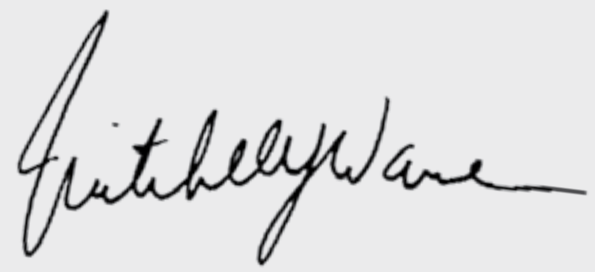 Mitchell Warren's signature